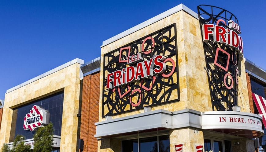 TGI Fridays Lease Negotiations